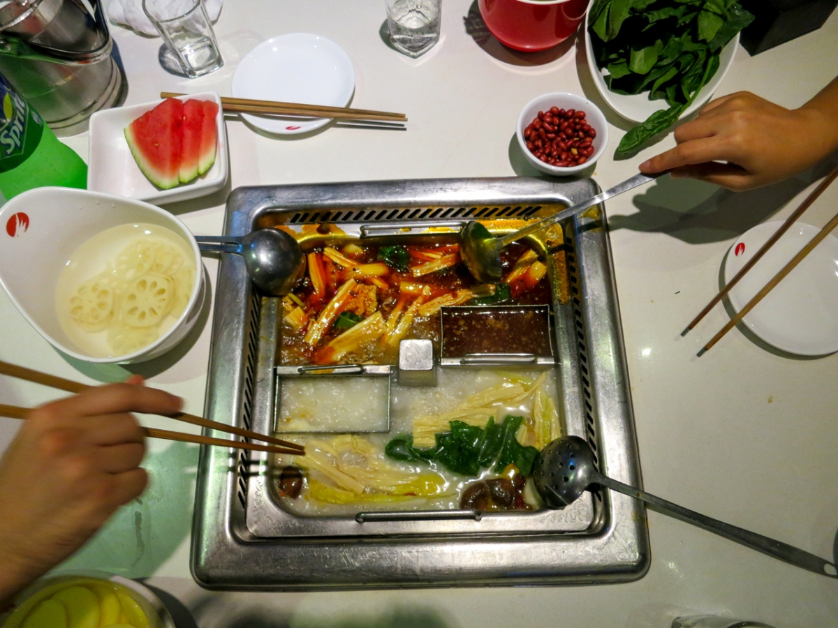 Go for the Free Waiting-Room-Fun, Stay for the Hot Pot