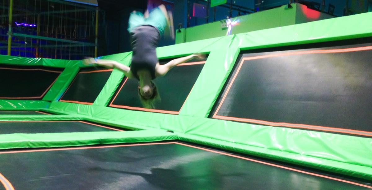 Jump Into Fun, Dole Island Trampoline Park