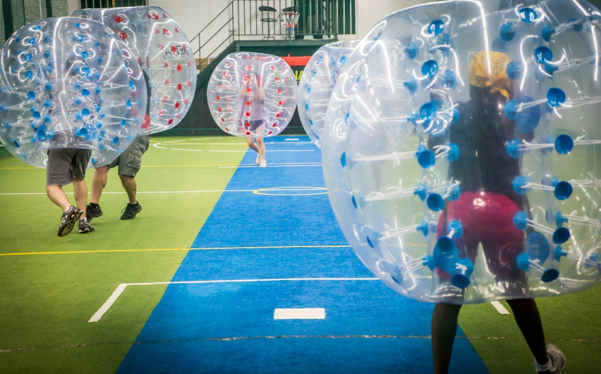 Bubble (Zorb) Ball Fun