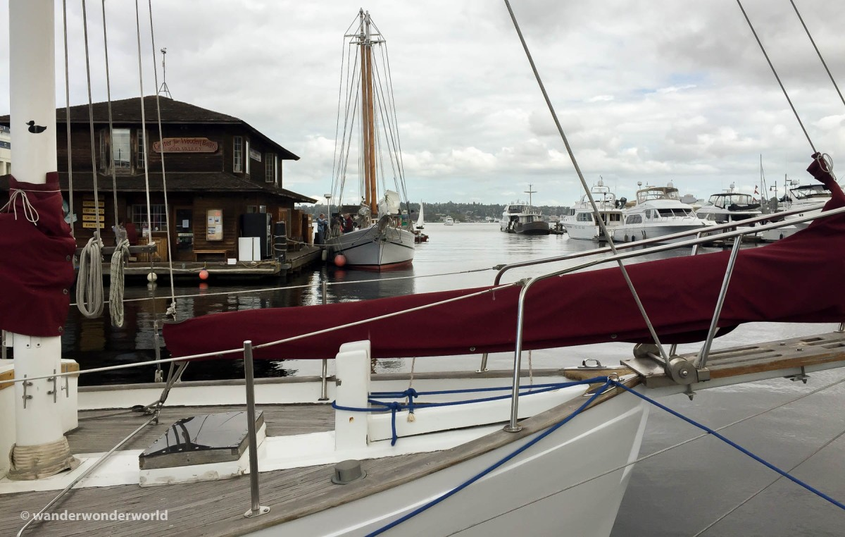 Enjoy a Boat Ride on Lake Union with Sunday Public Sail at The Center for Wooden Boats